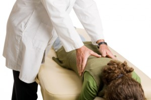 Chiropractor Doing Adjustment